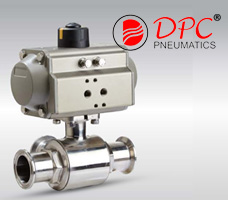 3-Way Clamped Ball Valve